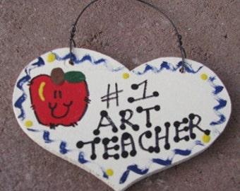 Art Teacher Gifts Number one Art Teacher