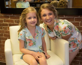 Flower Girl Pjs - Child Pajamas, Child Pjs, Kids Pjs, Perfect Flower girl gift, Baby shower gift