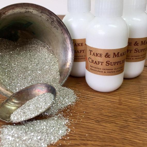 Glue for Glitter Craft - German Glass Glitter Tac Glue - Clear Adhesive for Bonding Glass Glitter - Take and Make Tac Glue, Archival Glue