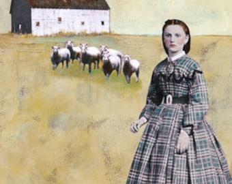 White Barn - Print