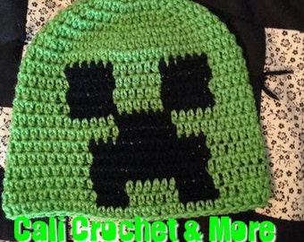 Exploding Creep Hat  {kids}