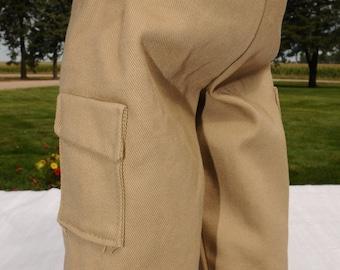 Black/Khaki Cargo Pants