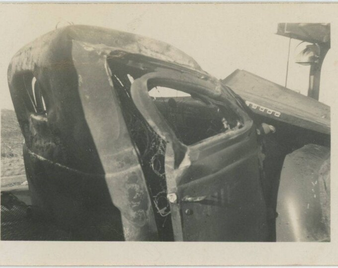 Dodge Truck: Vintage Snapshot Photo, c1940s [81641]