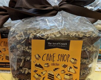 German Chocolate Biscotti ~ The Cake Shop Collection