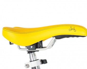 New Saddle For Brompton in Sunflower Yellow SALE