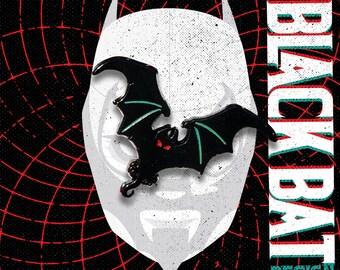 Black Bat Pin