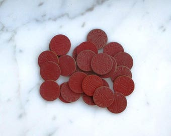 red point ration tokens