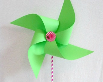 Barbecue Decoration Picnic Table Centerpiece Birthday Decorations Baby Shower Decor Large Pinwheel Birthday Party Photo Prop