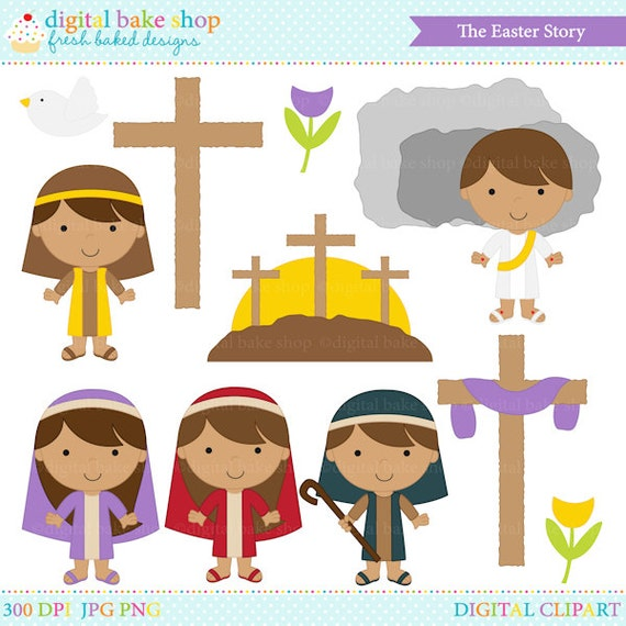 Easter Clipart Clip Art Bible Jesus Christian Sunday The