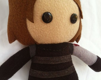 Marvel Bucky Barnes Winter Soldier Fleece Plush Doll