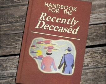 BLANK BOOK Journal - Sketchbook - Sketch Book - Handbook for the Recently Deceased - BEETLEJUICE movie prop - Zombie - Beatlejuice