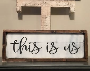 Farmhouse   Gallery Wall Decor   Fixer Upper Decor   This is Us   Family Decor   Farmhouse Decor   Gallery Wall Sign   This is Us Sign