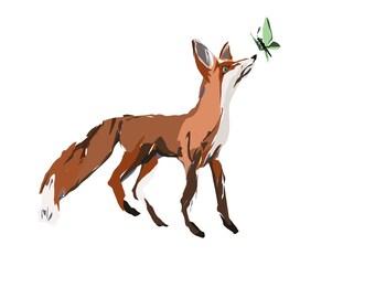 Blank cards - animal 3 pack -chameleon and giraffe