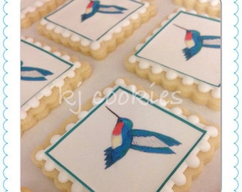 LOCAL Hummingbird Edible Print Cookies