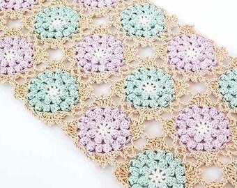 Crochet scarf pattern/ Crochet lace scarf pattern / Crochet lace scarf/ Lace scarf pattern/ Flower scarf/ PDF pattern scarf/ Crochet sarf