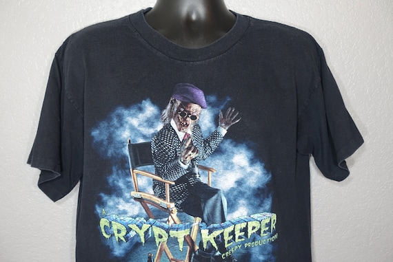 1996 RARE Tales From The Crypt - Crypt Keeper - Halloween Horror Nights VI - Universal Studios Florida TV Show Vintage T-Shirt