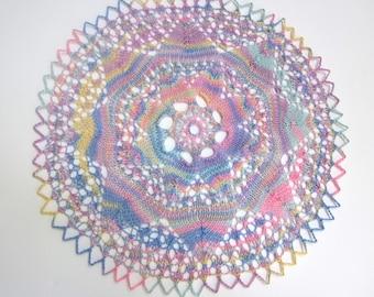 La main Pastel coton tissu napperon Home Décor