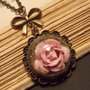 Fairy Tale Rose Necklace