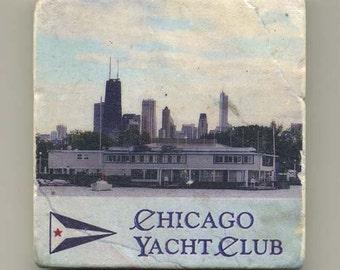 Chicago Yacht Club - Original Coaster