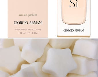 Georjio Armarni Si designer luxury highly scented wax melts x3