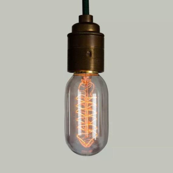 Edison Filament Bulb - Radio Valve Spiral