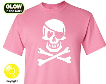 Pink Pirate Glow in the Dark T-shirt (limited)