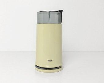 Vintage BRAUN Coffee Grinder / Braun KSM2 / Beige / Germany, Spain 70s-80s