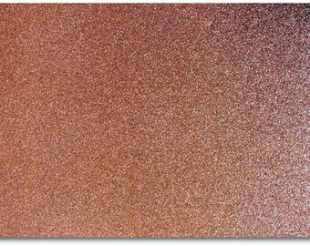 2 x A4 sheets of Premium Dovecraft Chocolate Brown Glitter Card 220 gsm