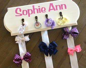Hair Bow Holder, Headband Holder for Nursery Headband Holder Wall, Girl Headband Holder Baby Girl Headband Holder Organizer
