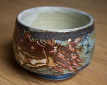Cuttlefish and Flowers Cup