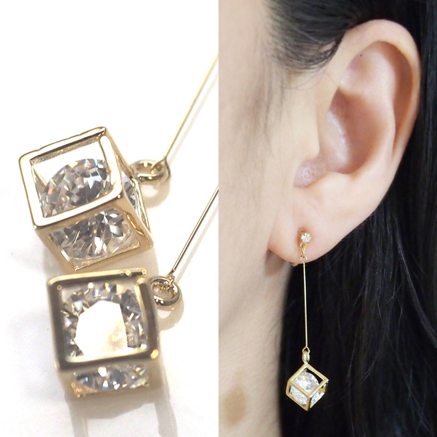 on gold kjl earring clip earrings seashell satin collections kennethjaylane com products
