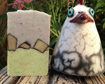 Lavender & Sage Artisan Soap made with all natural oils and botanicals. 12 BARS!