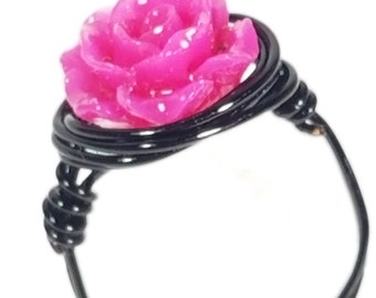 Rose ring.Multiple colors available