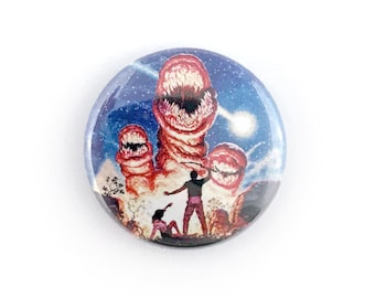"The Deadly Spawn - 1"" Button Pin"