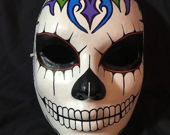 Tribal Sugar Skull Mask