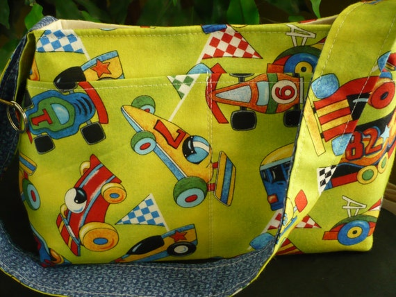 Let's Race! Mini Diaper Bag