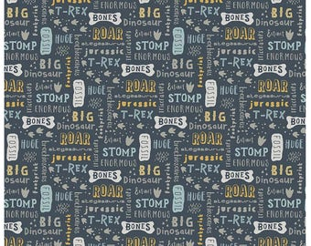 Fossil Words by Deena Rutter for Riley Blake - 1/2 yard
