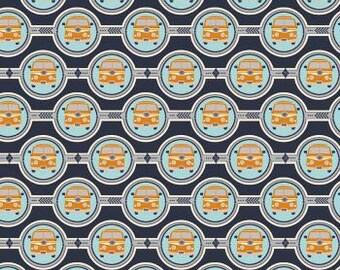 Campervan fabric by Riley Blake Designs