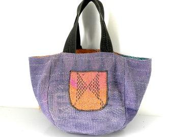 kantha bag, kantha quilt, kantha, boho bag, reversible bag, hippie bag, shoulder bag, boho chic bag, kantha purse, hobo bag, kantha throw