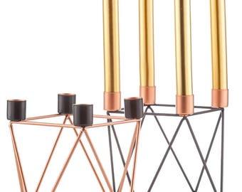 Candlestick wire geometric