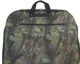 Personalized TREE CAMO Garment Bag TRAVEL Luggage Mens Garment Bag