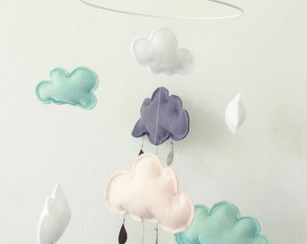 "Mobile ""Summer Rain"" clouds-Mobile"