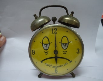 Vintage Robert Shaw Co. Alarm Clock