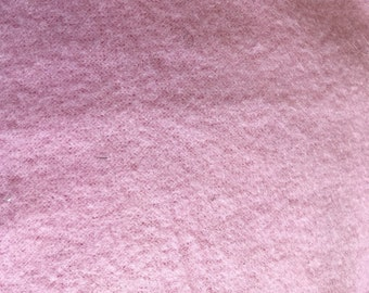 "Pink 100 weight polartec polar fleece fabric material 72"" wide Free shipping"