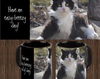 Black Easy~Breezy Mug