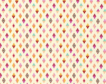 Tula Pink - Slow and Steady - Track Flags - PWTP090-ORANG