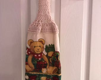 Hanging Kitchen Towel- Teddy Bear