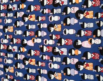 Kids sleeping bag original girl - junior duvet - kindergarten printed Geisha
