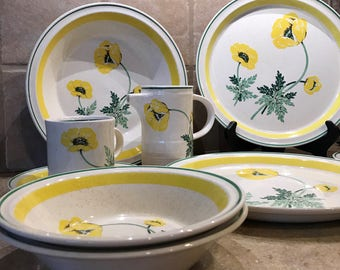 Shannon Aran Stone Made in Ireland S Wonderful dishes 12 pieces