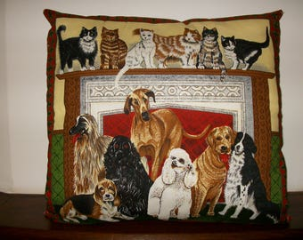 Cushion complete patterns cats and dogs